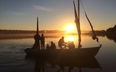 Швертботы на Ладожском озере