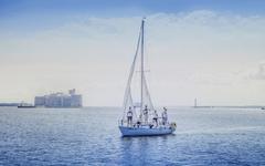 Путешествие на яхте по Финскому заливу