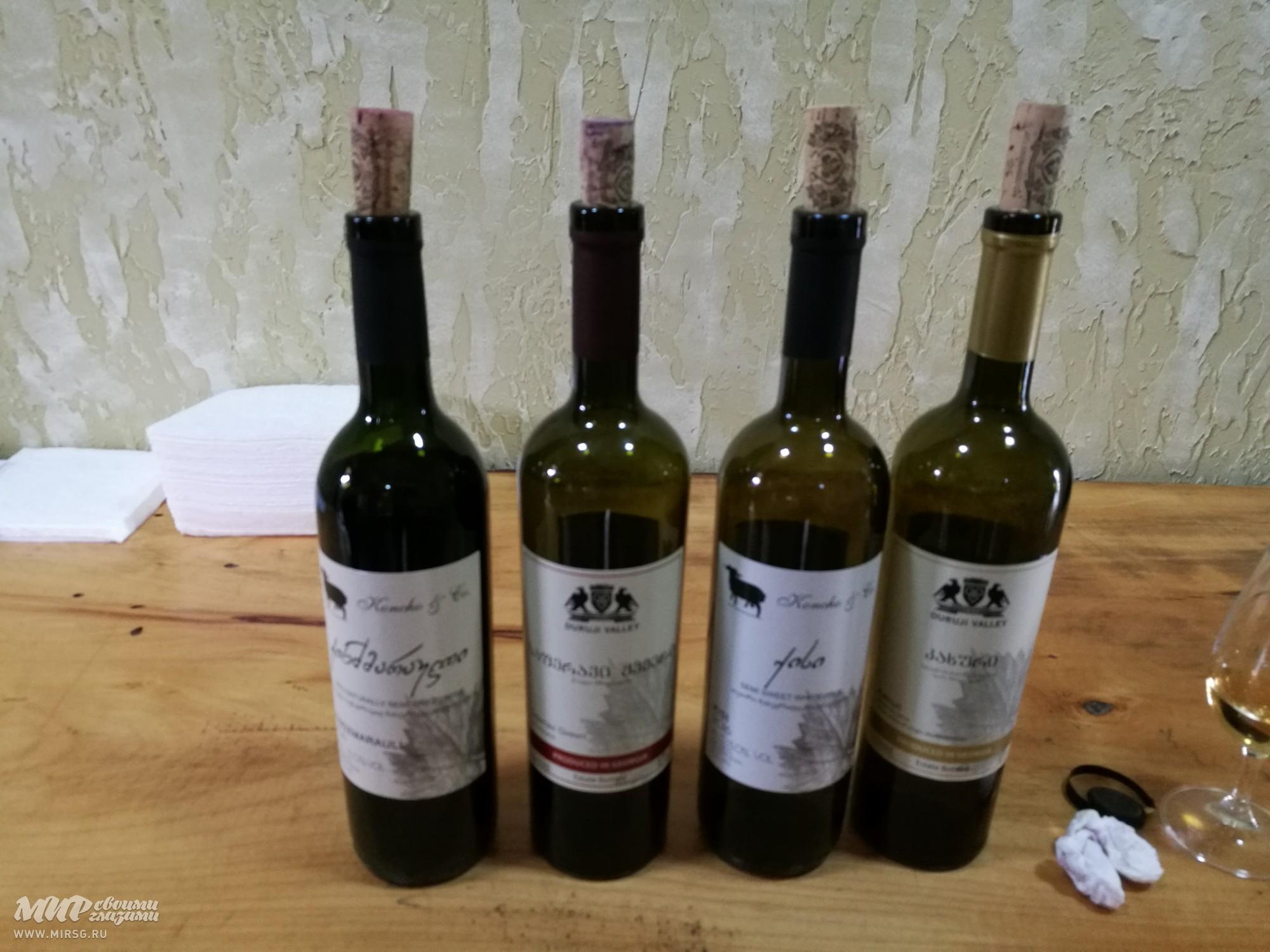 Белое сухое вино Гурджаани для истинных ценителей вкуса